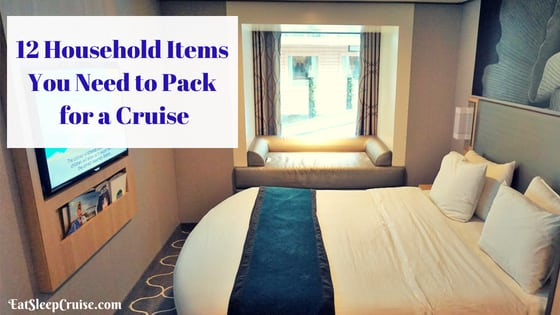 12 Household Items to Pack on a Cruise