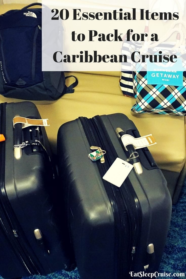 20 Essential Items to Pack for a Caribbean Cruise