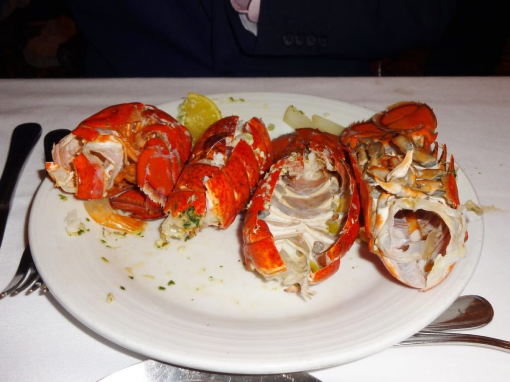 lobster on Independence of the Seas
