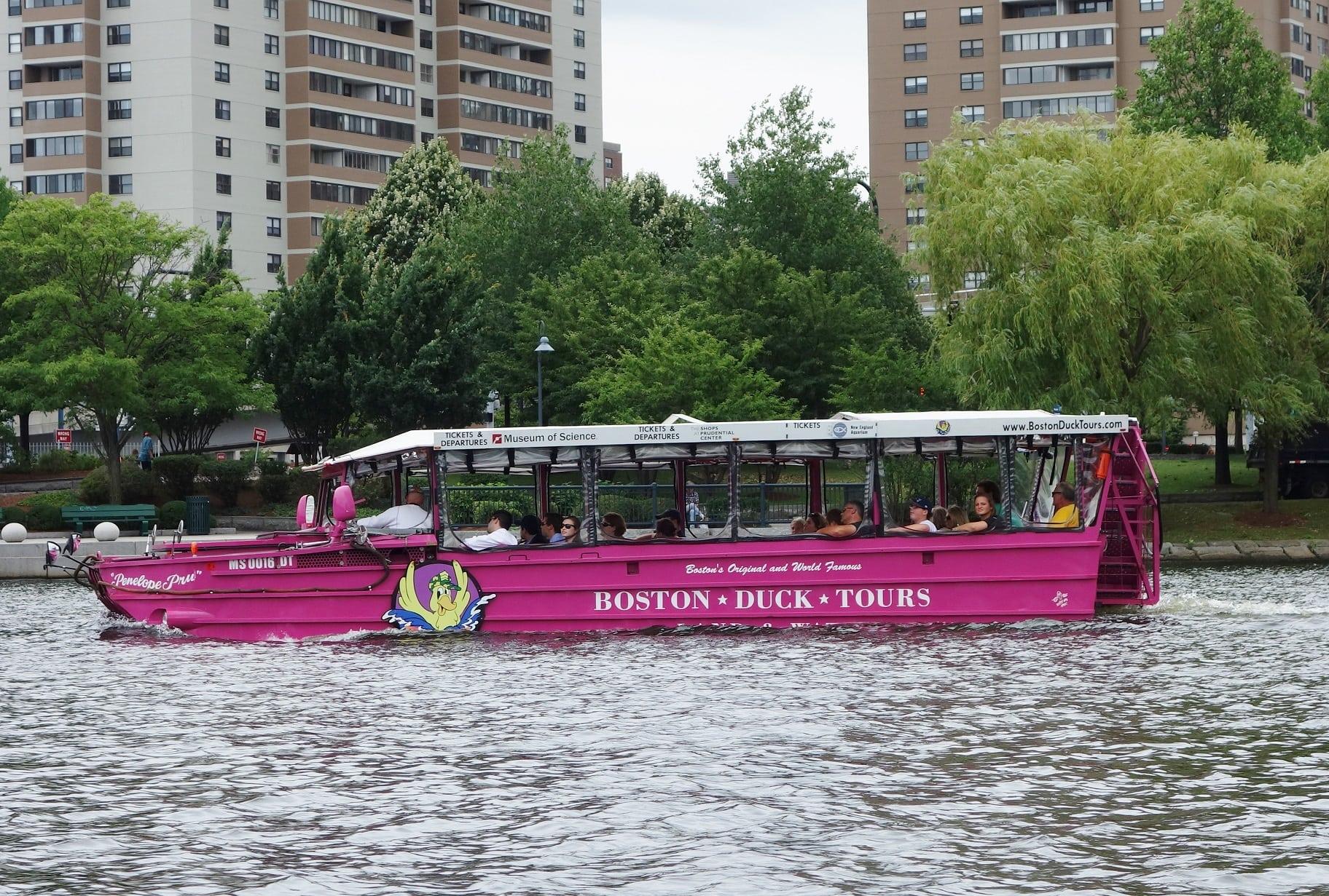 resized duck boat