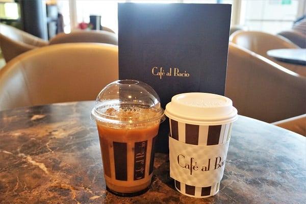 Coffees at Cafe al Bacio