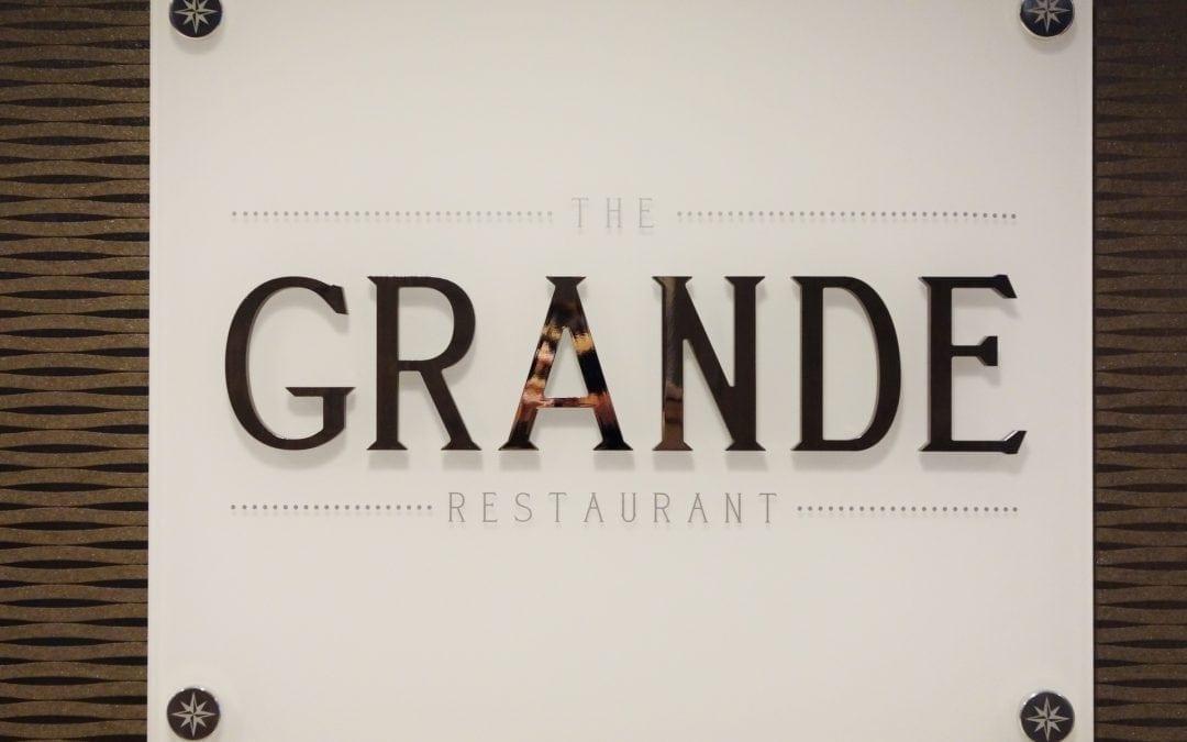 Quantum of the Seas: Dynamic Dining Review Grande Restaurant