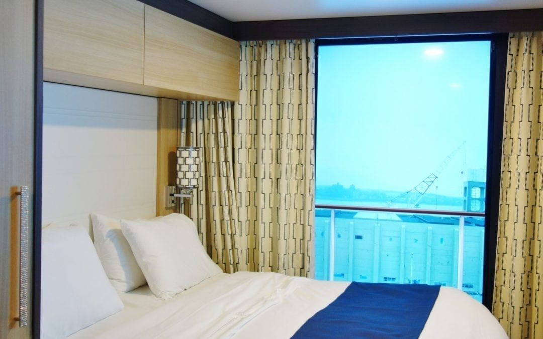 Views from Quantum of the Seas Virtual Balconies