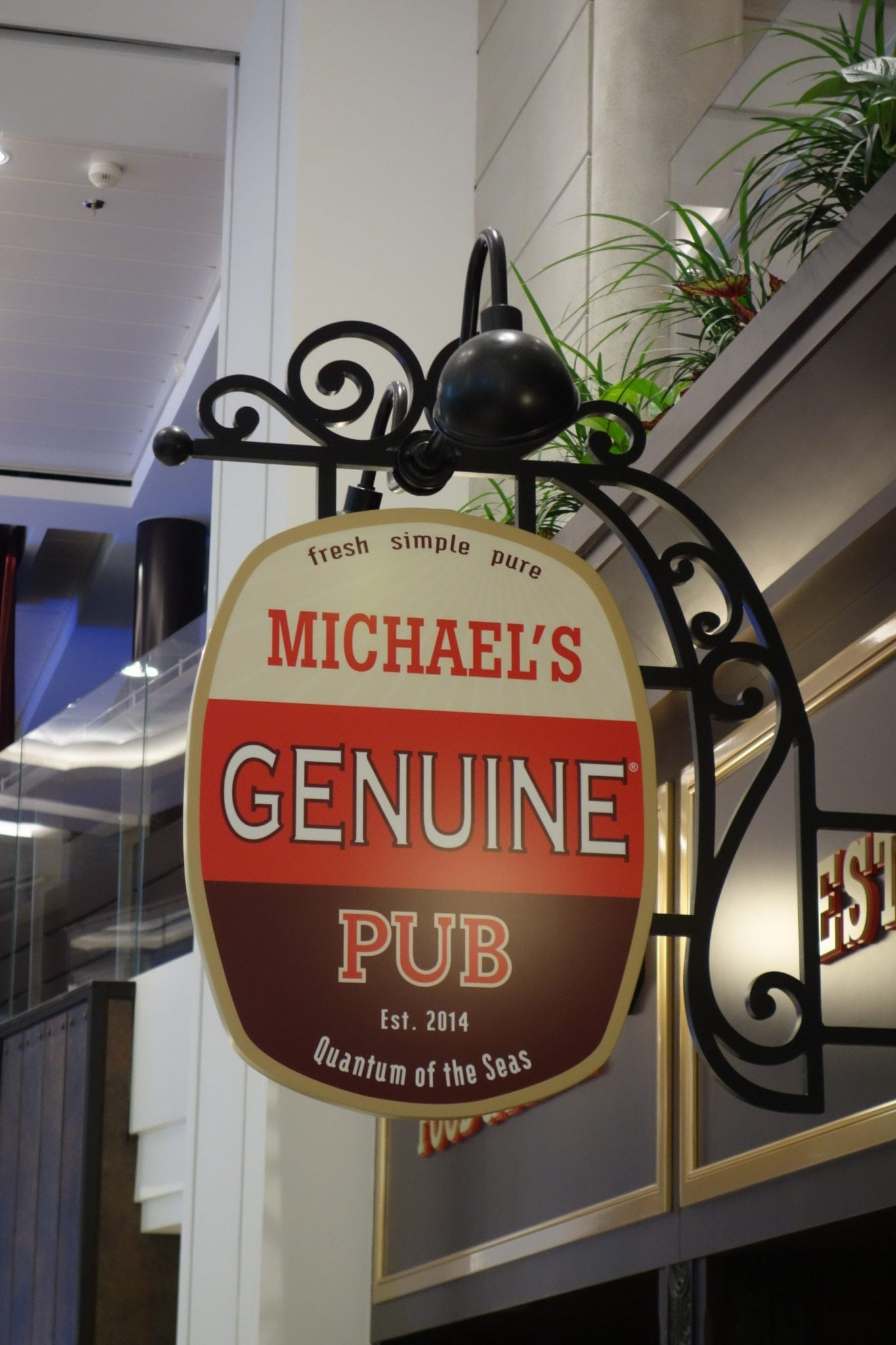 Quantum of the Seas Michael's Genuine Pub