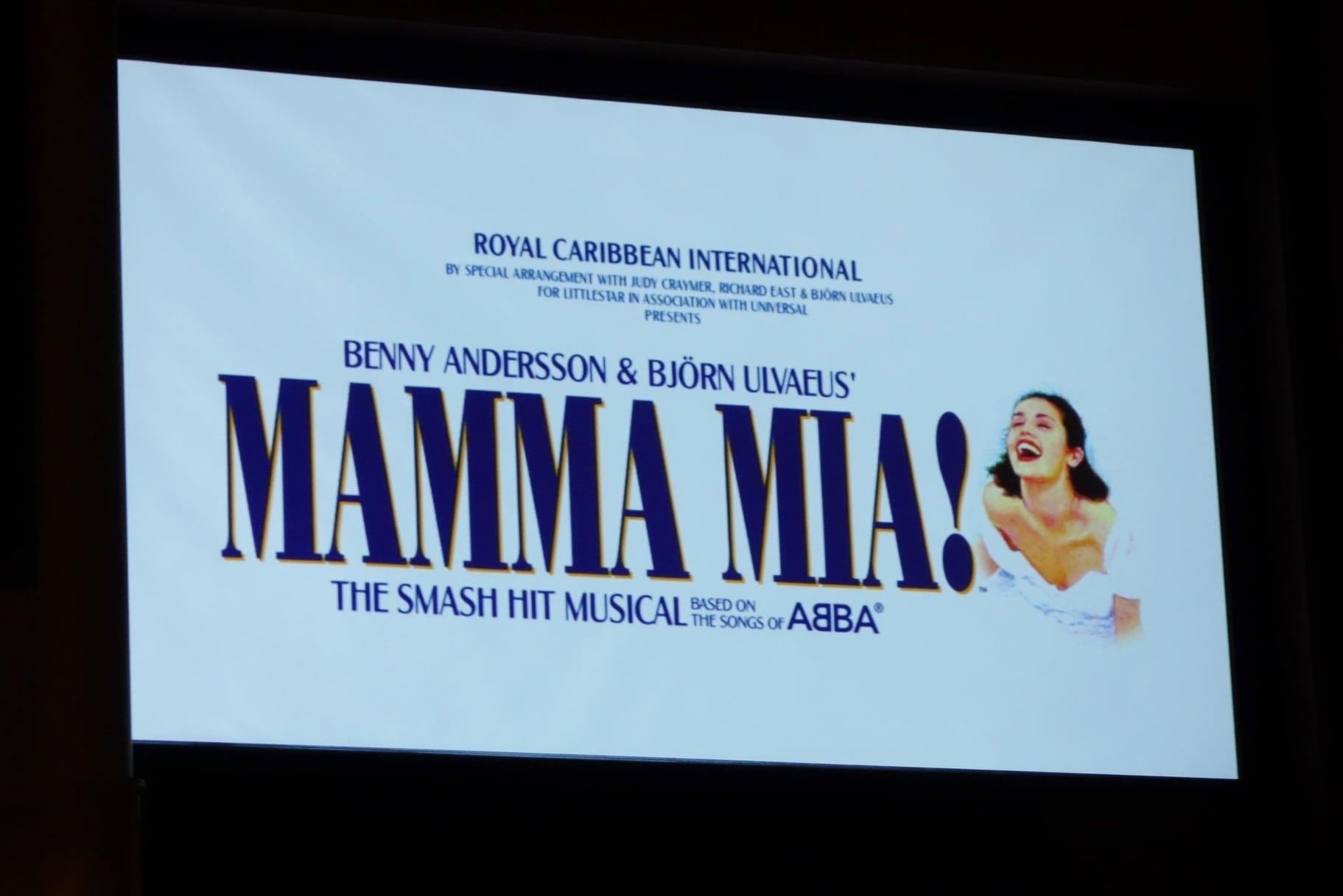 Mamma Mia Quantum of the Seas