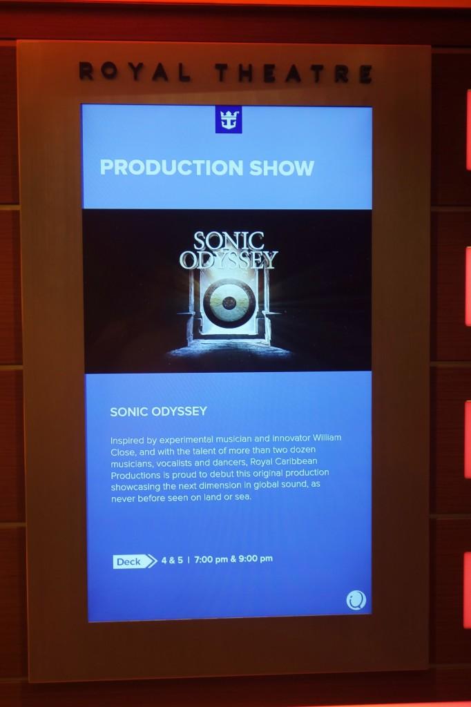 Sonic Odyssey Royal Caribbean