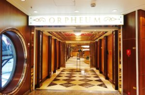 Theater Entrance Enchantment of the Seas Review
