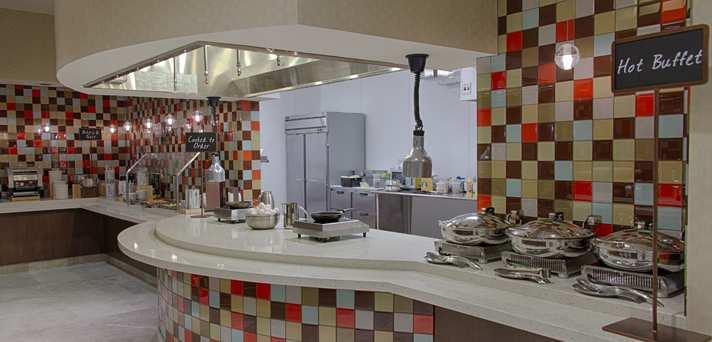 Cooked-to-Order Breakfast Area Embassy Suites Elizabeth NJ