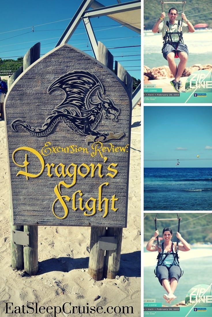 Labadee Zip Line: Photo Review of Dragon's Breath Flight Line