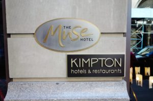 Muse Hotel New York Review Sign