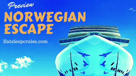Norwegian Escape- Exclusive Ship Preview