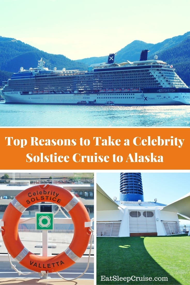 Top Reasons to Take a Celebrity Solstice Cruise to Alaska