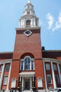 Boston Freedom Trail Park Street Church