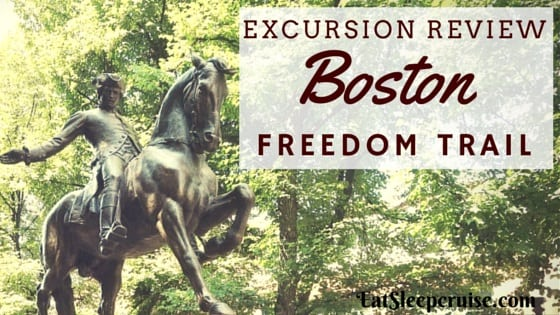 Self Guided Tour of Boston Freedom Trail
