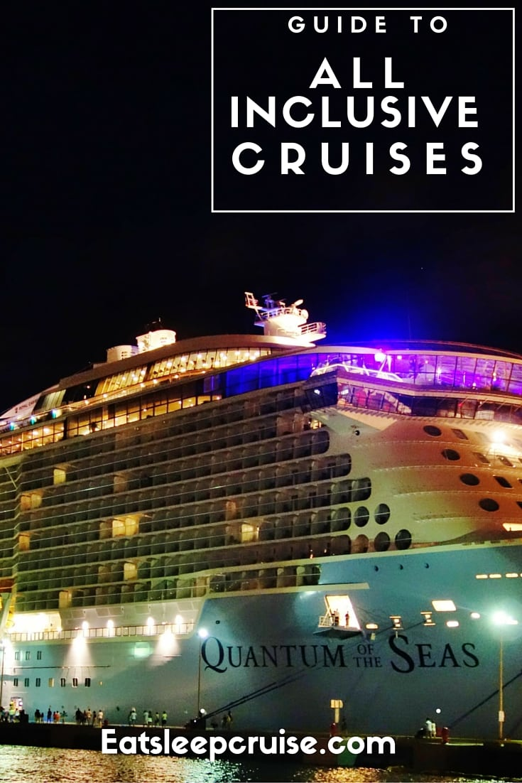 Guide to All Inclusive Cruises