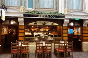 The Duck and Dog Pub on Adventure of the Seas