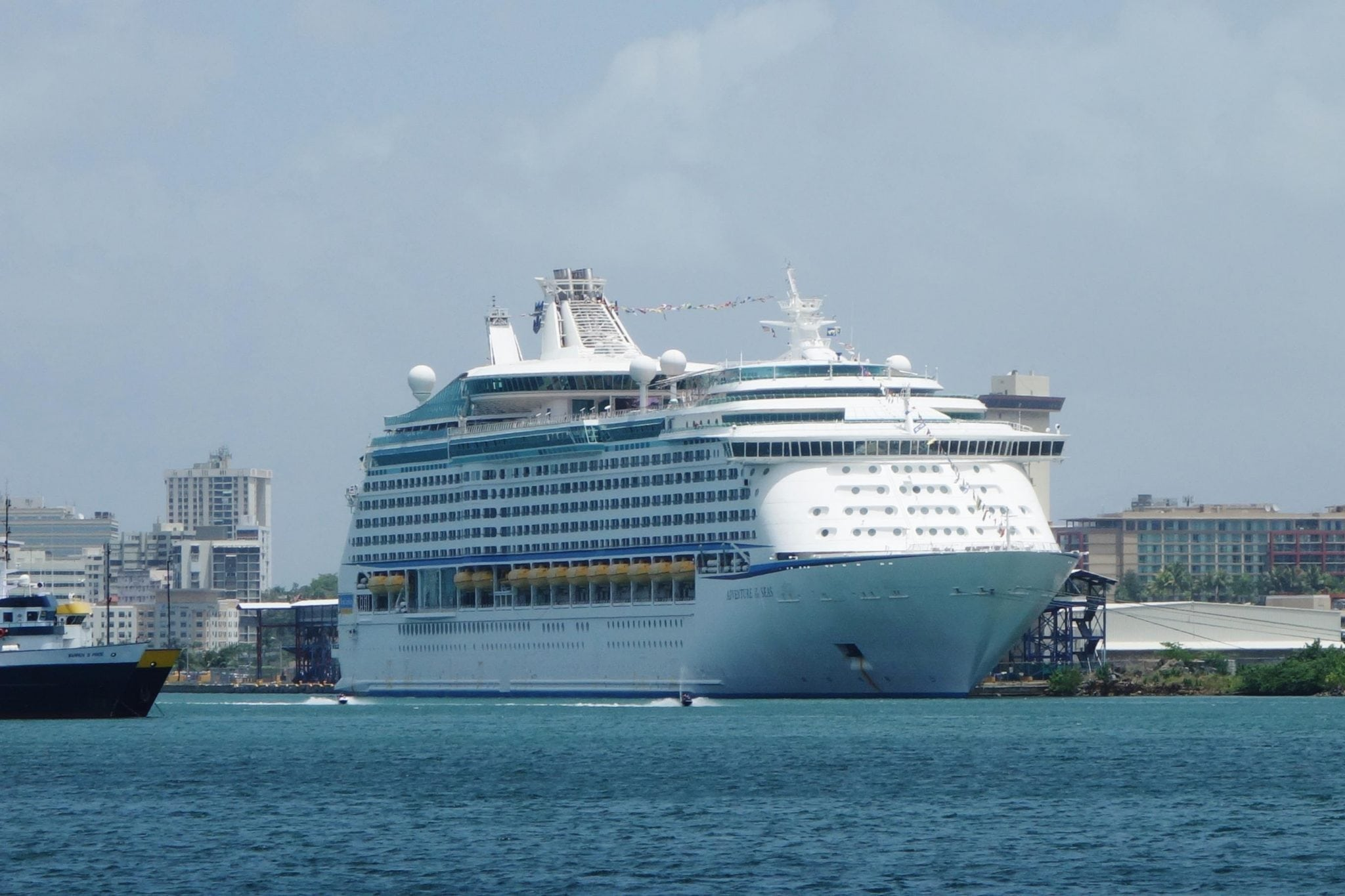Adventure of the Seas in San Juan, PR
