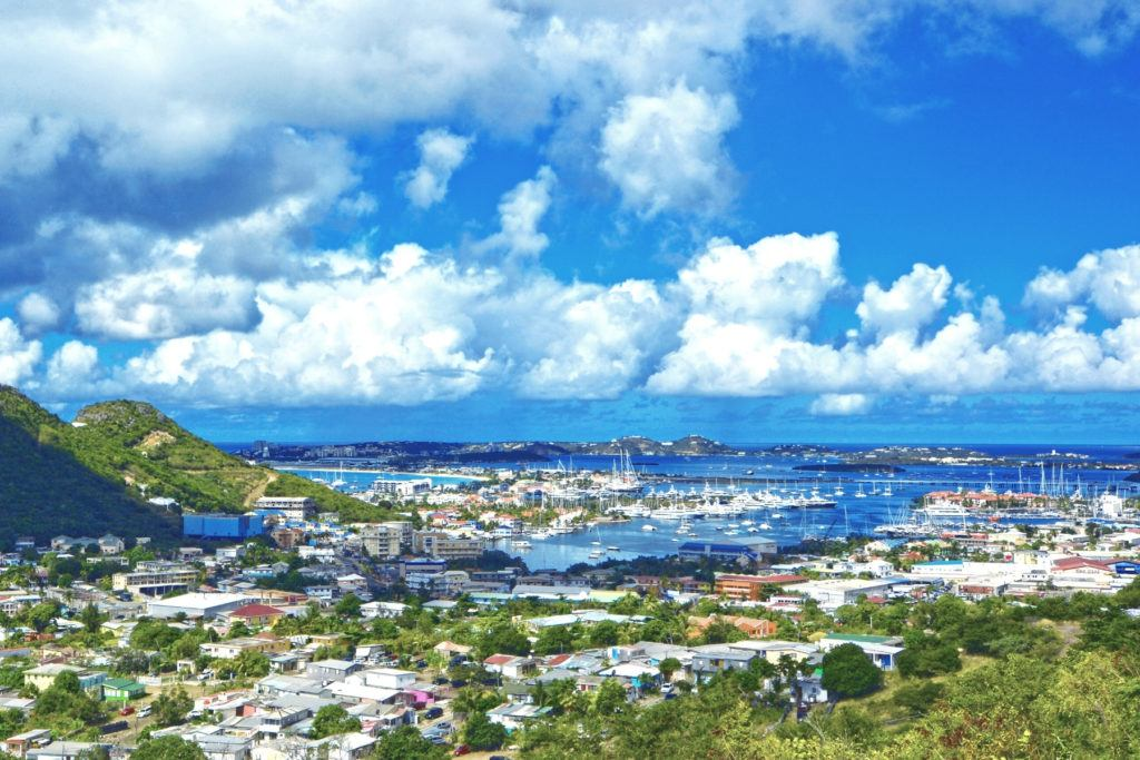 Harold Jack look out point, located on Cole Bay Hill and about a 10 minute drive from the cruise terminal, is another popular spot to catch great views of Simpson Bay. Wherever you chose to visit on your island tour, these amazing views of St. Maarten will definitely make your list of the Best Things to Do in St. Maarten on a Cruise.