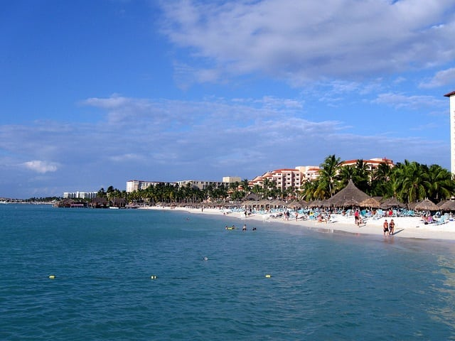 Best Things To Do In Aruba On A Cruise View Of Palm Beach