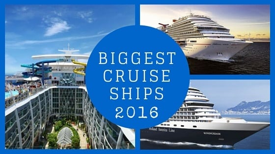 Review Of The Largest Cruise Ships Debuting In - Big cruise ship
