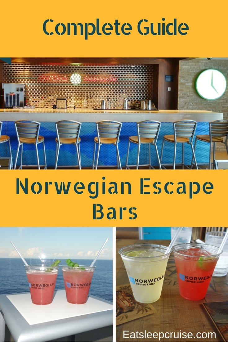 Complete Guide to Norwegian Escape Bars