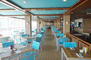 Margaritaville at Sea Restaurant Review