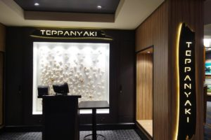 Teppanyaki on Norwegian Escape