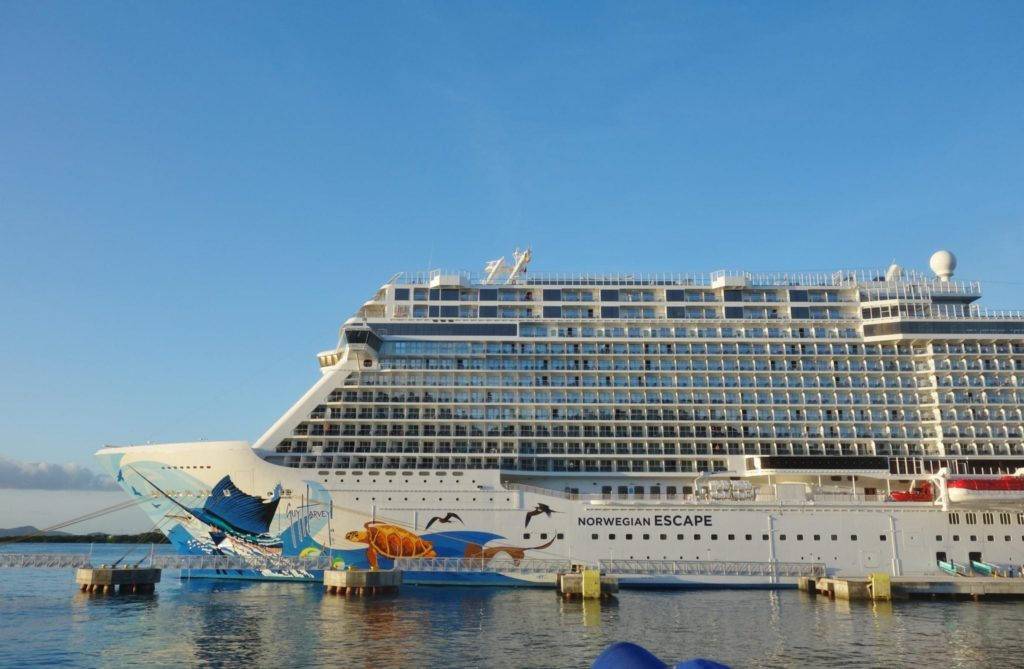 Norwegian Escape Daily Schedule