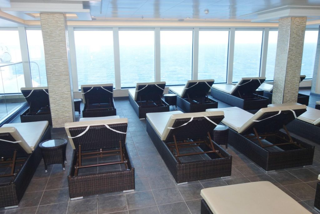 Thermal Suite on Norwegian Escape