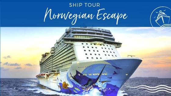 Ship Tour of Norwegian Escape