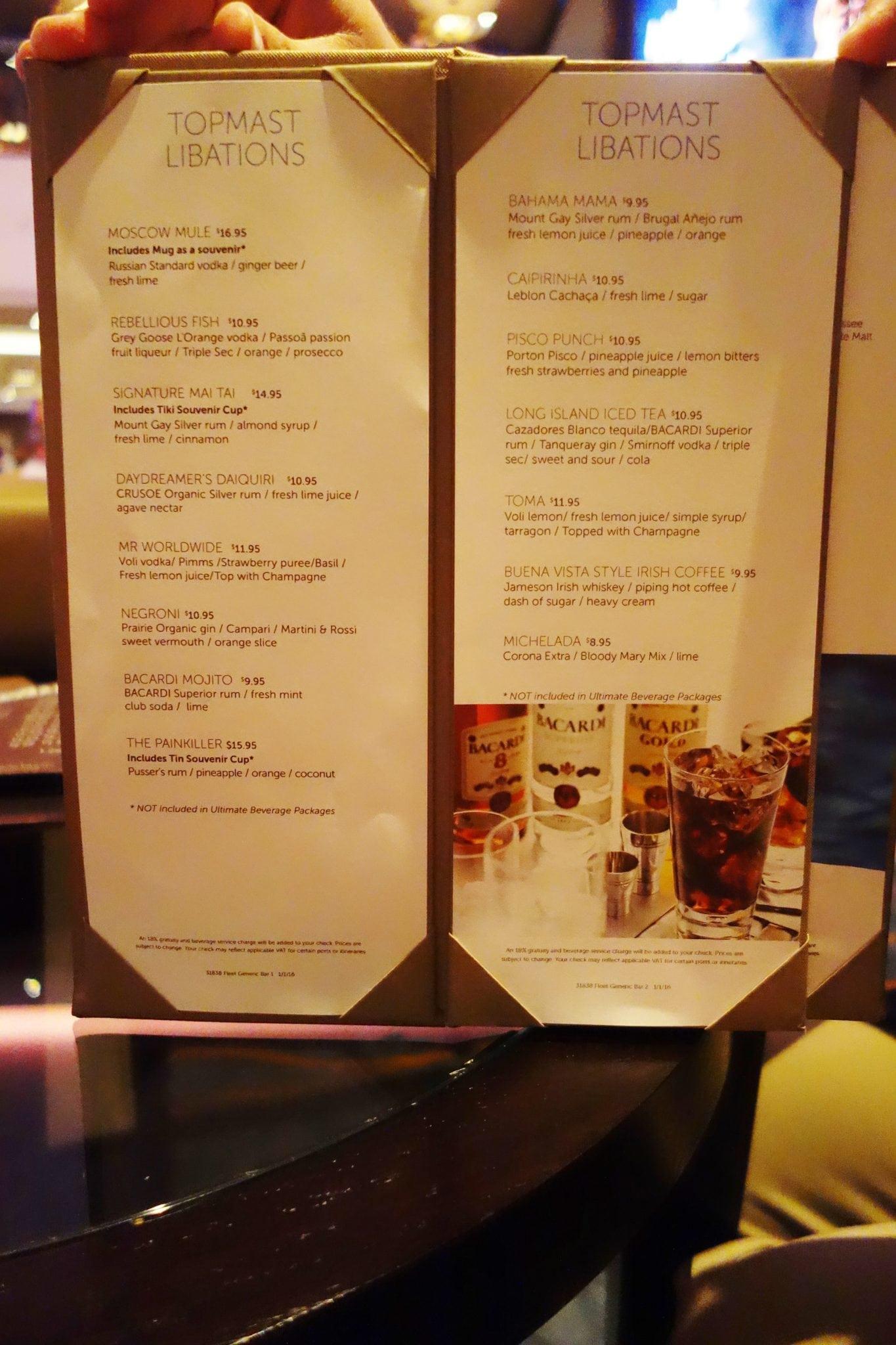 By The Sea Restaurant Week Menu