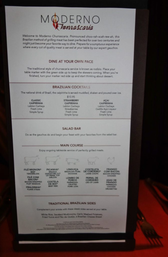 O Cafe And Bistro Menu