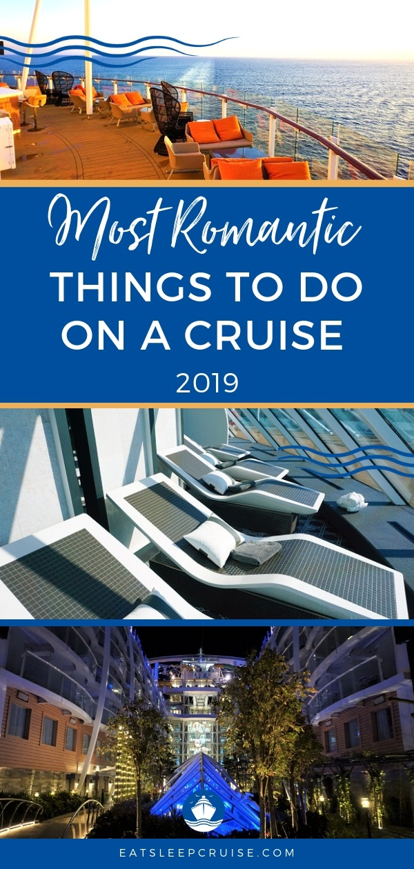 Most Romantic Things to do on a Cruise