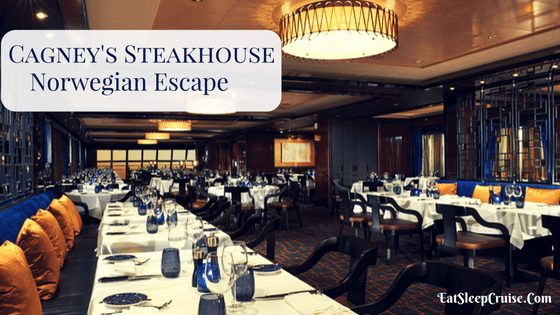 Review Cagney's Steakhouse Norwegian Escape