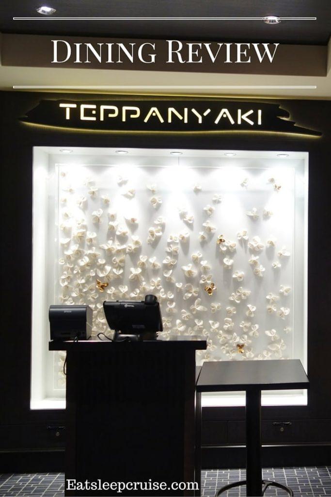 Teppanyaki on Norwegian Escape