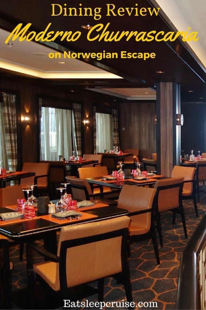 Moderno on Norwegian Escape