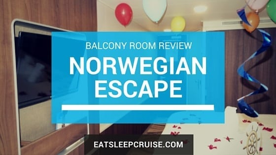 Norwegian Escape Balcony Room Review