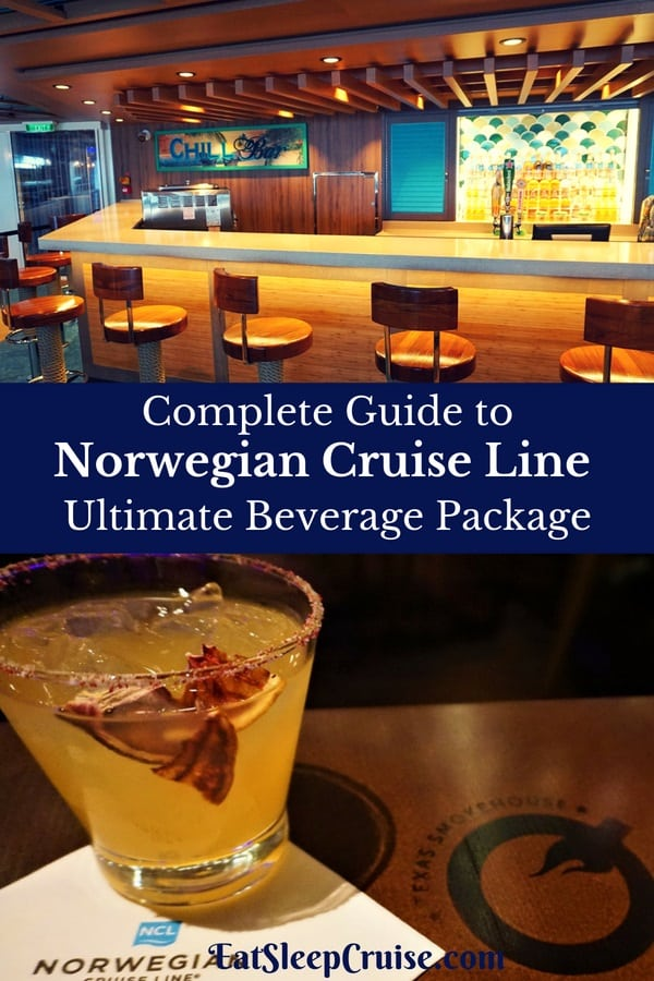Conmplete Guide to Norwegian Cruise Line Ultimate Beverage Package