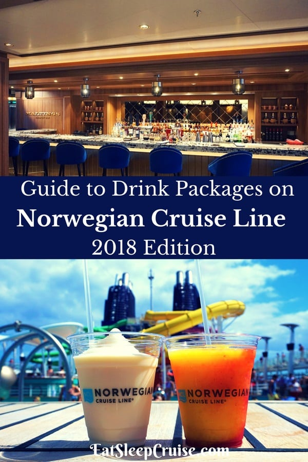 Guide to Norwegian Cruise Line Drink Packages