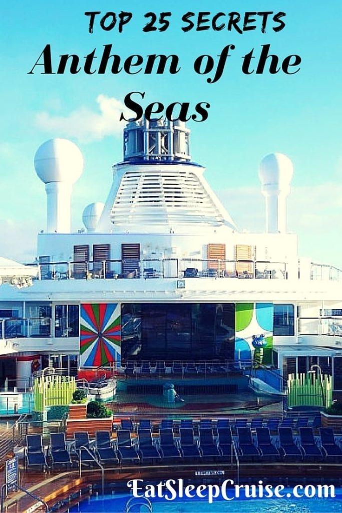 Anthem of the Seas Secrets