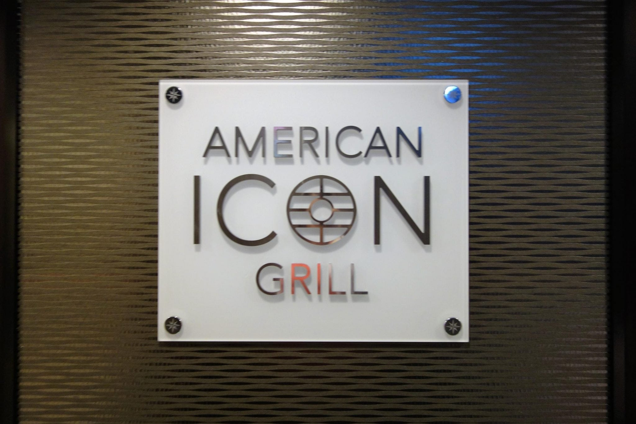 American Icon Grill Anthem of the Seas