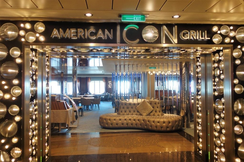 Anthem Of The Seas Chic Dining Room