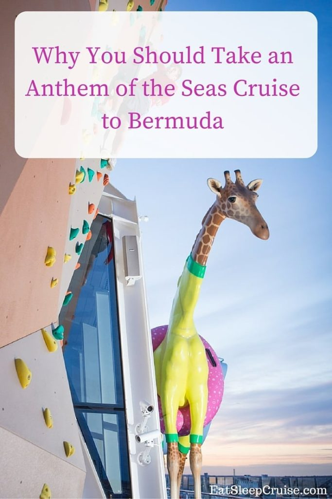Anthem of the Seas Bermuda Cruise