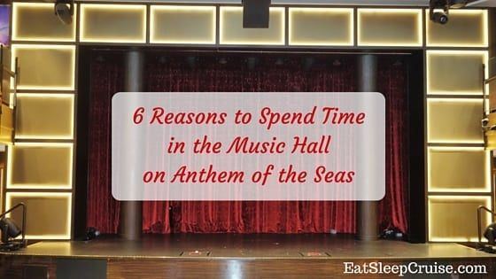 Music Hall on Anthem of the Seas