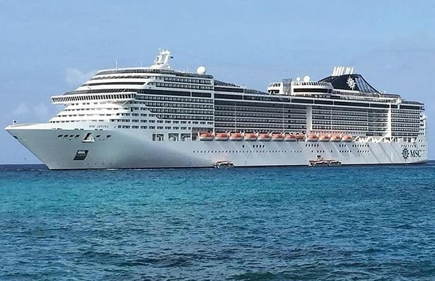 MSC Divina July 4th