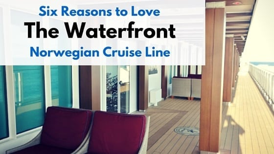 Waterfront on Norwegian Cruise Line
