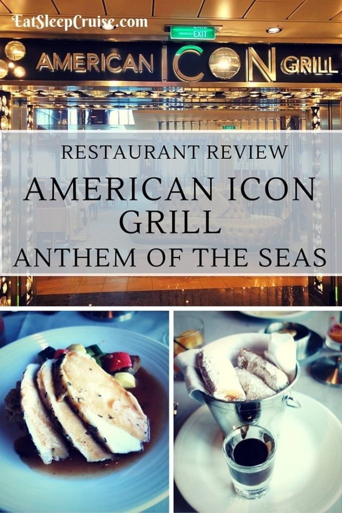 Photo Review Of American Icon Grill Anthem Of The Seas