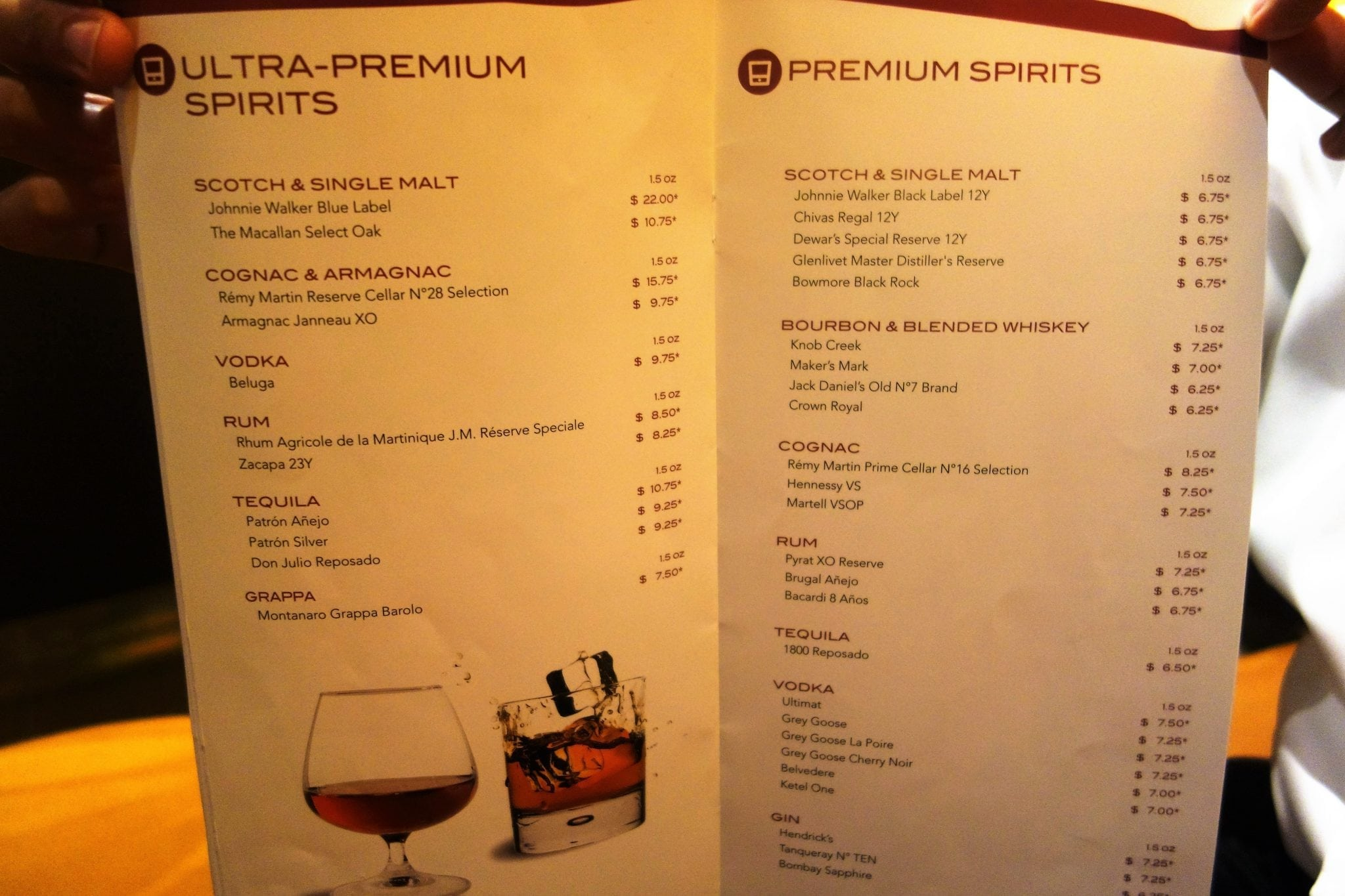 Complete Guide To All The Bars On Msc Divina