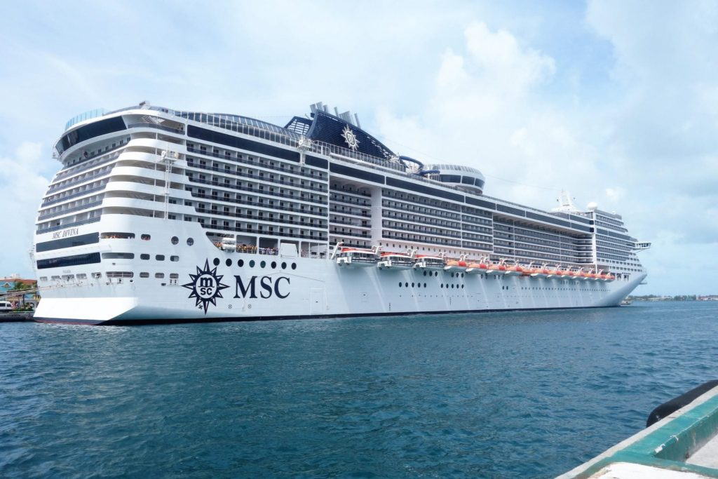 MSC Divinia in Cozumel