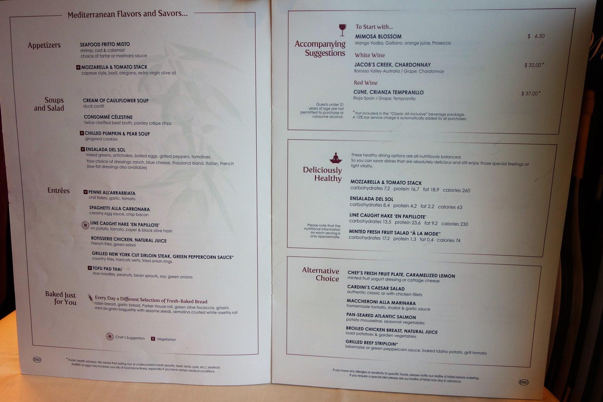 Complete Msc Divina Review From Eatsleepcruise Com